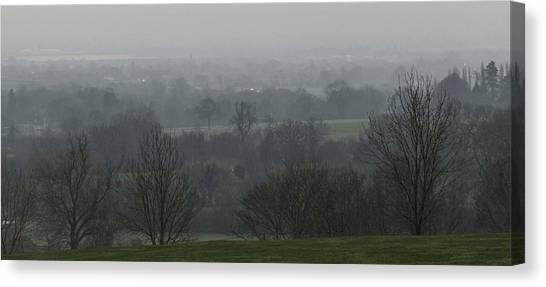 Valley Dawn  Canvas Print