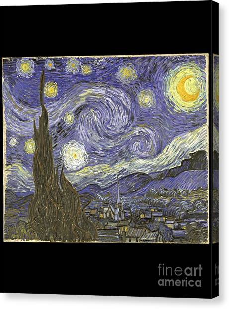 Van Goh Starry Night Canvas Print