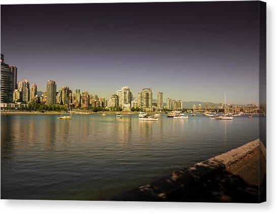 Vancouver In Magical Hours Canvas Print