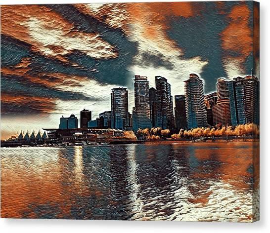 Vancouver Canvas Print by Keith Cassatt