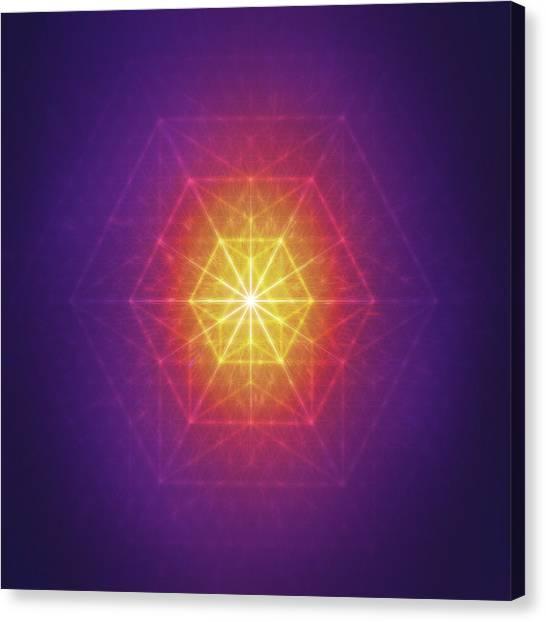 Vector Equilibrium Canvas Print
