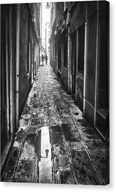 Venetian Alley Canvas Print