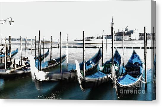Venezia High-key, Italy Canvas Print