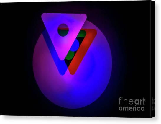 Mba Canvas Print - Venn Diagram A1 by Shay Levy