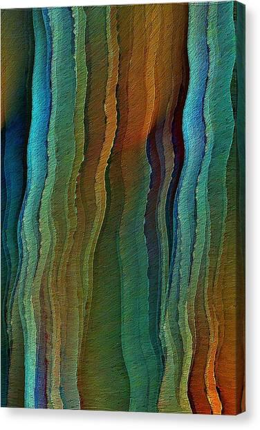 Vents Under The Sea Canvas Print