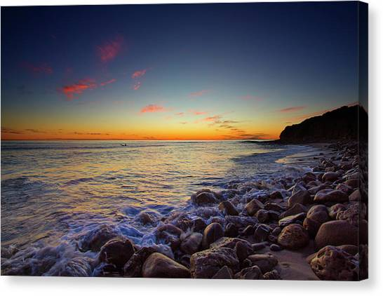 Ventura Sunset Canvas Print