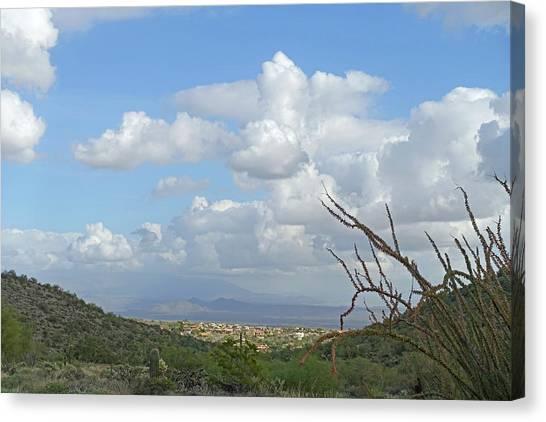 Canvas Print featuring the photograph Verdant Valley 3 by Lynda Lehmann