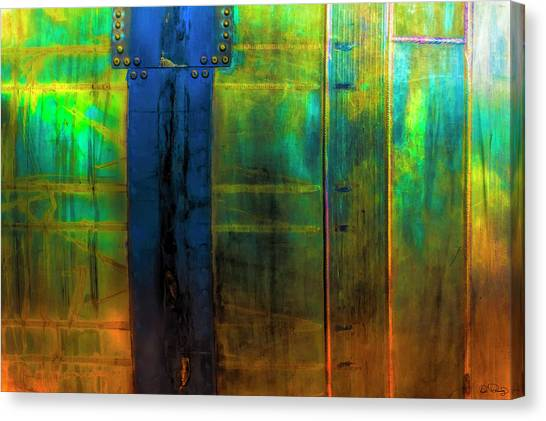 Vertical Heavy Metal Canvas Print
