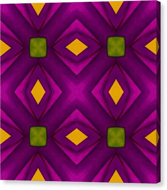 Vibrant Geometric Design Canvas Print
