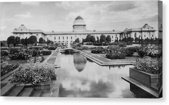Viceroys House Canvas Print by Hulton Archive