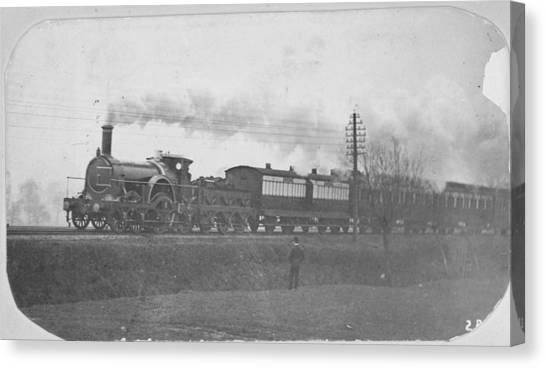 Victorian Express Canvas Print by Hulton Archive