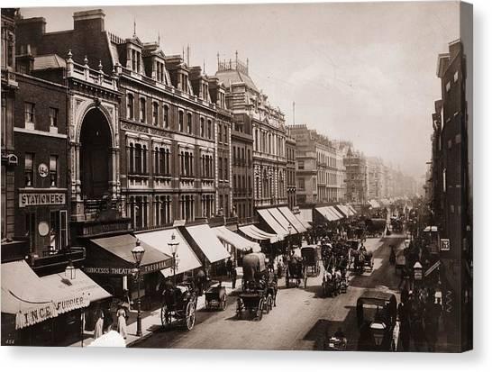 Victorian London Canvas Print by London Stereoscopic Company