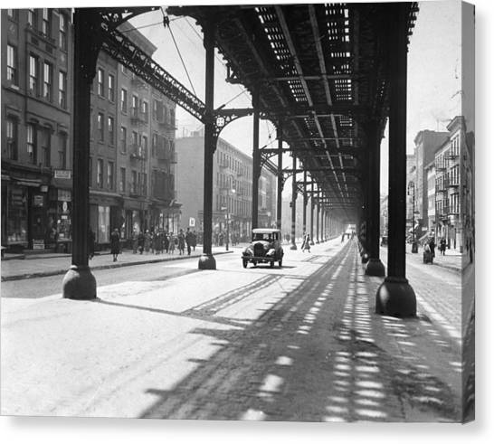 View From 38th St. And Second Ave Canvas Print