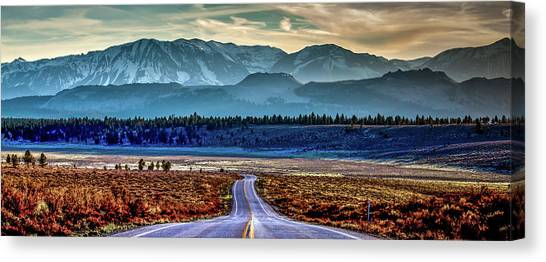 Ca Canvas Print - View From A Windy Road by Az Jackson