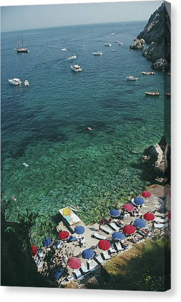 View From Il Pellicano Canvas Print