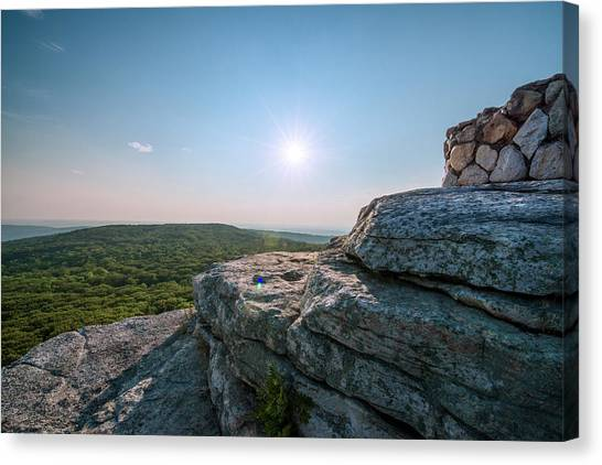 View From Sams Point Preserve In Canvas Print by Boogich