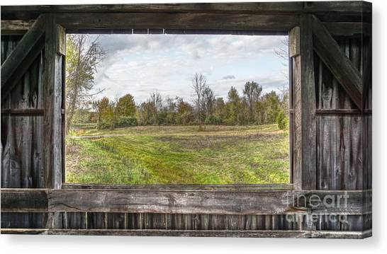 View Into Ohio's Nature Canvas Print