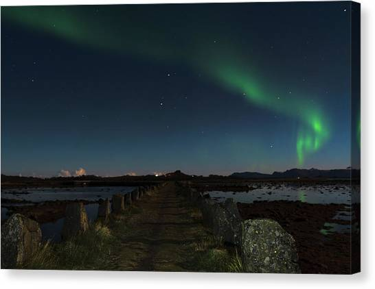 Viking Path Canvas Print