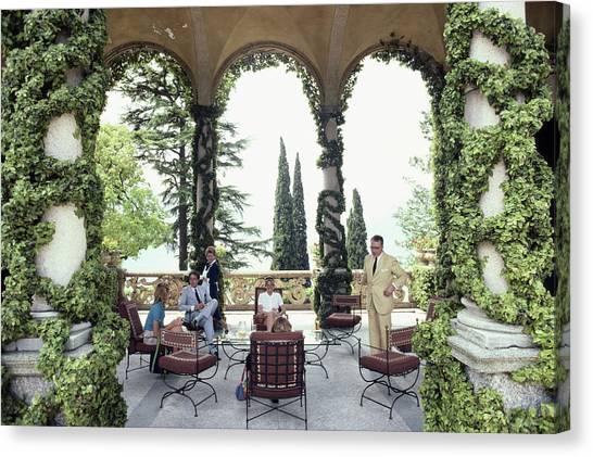 Villa Del Balbianello Canvas Print