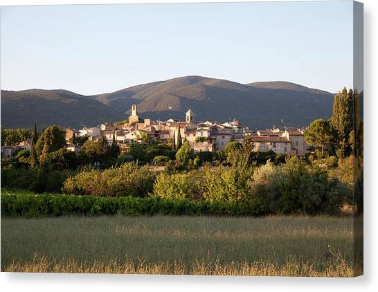 Village Of Lourmarin Canvas Print by Photo And Co