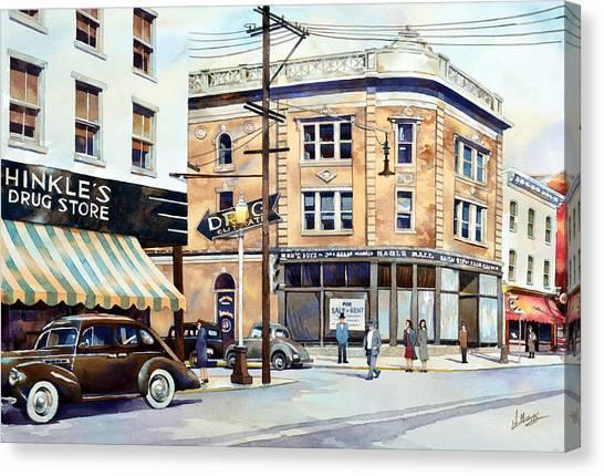 Vintage Color, Hinkle's Canvas Print