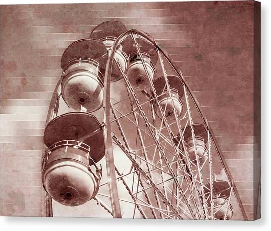 Vintage Ferris Wheel Canvas Print