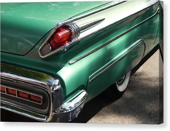 Vintage Tail Fin Canvas Print