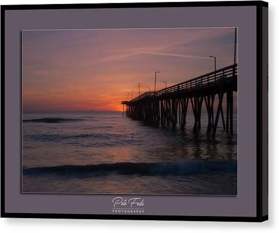 Virginia Beach Sunrise Canvas Print
