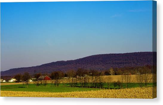 Virginia Mountain Landscape Canvas Print