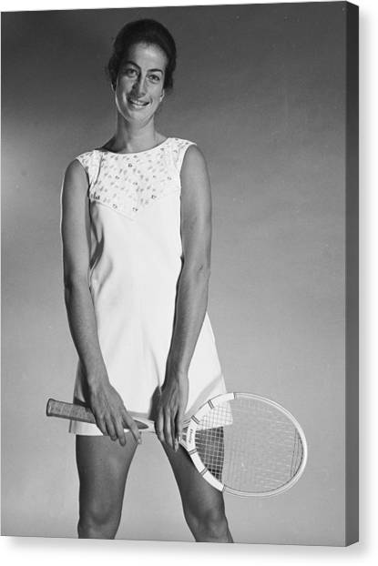 Virginia Wade Canvas Print