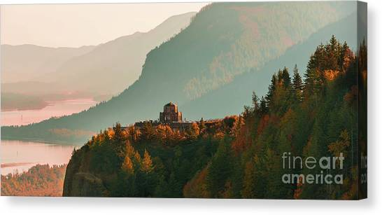 Vista House Canvas Print