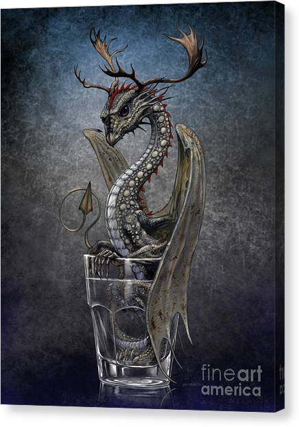 Vodka Dragon Canvas Print