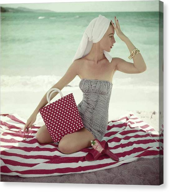 Vogue 1954 Canvas Print