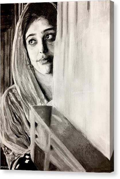 Fineart Canvas Print - Waiting For Him by Siddhant Khattri