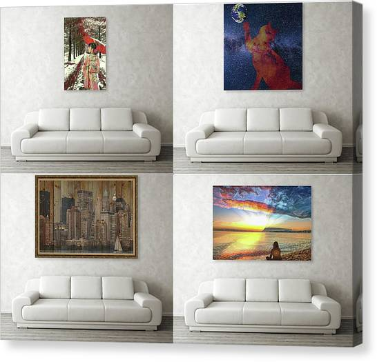 Wall Art Samples Canvas Print
