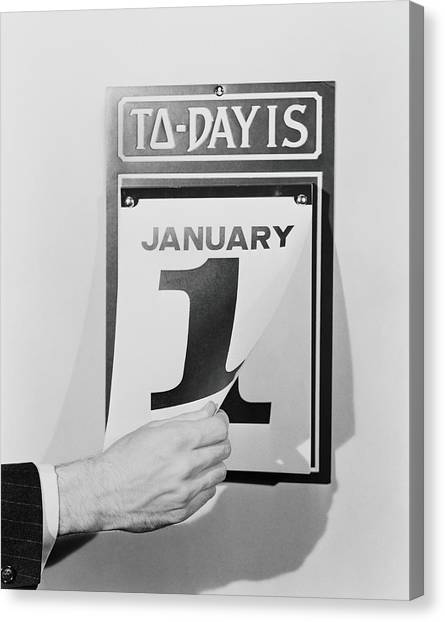 Wall Calendar Canvas Print by H. Armstrong Roberts