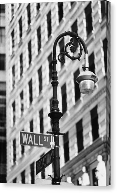 Wall Street Canvas Print by Keystone