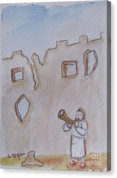 Walls Of Jericho Canvas Print