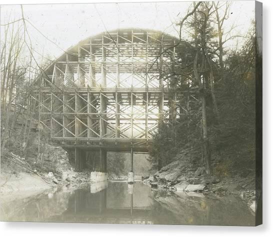 Walnut Lane Bridge Canvas Print