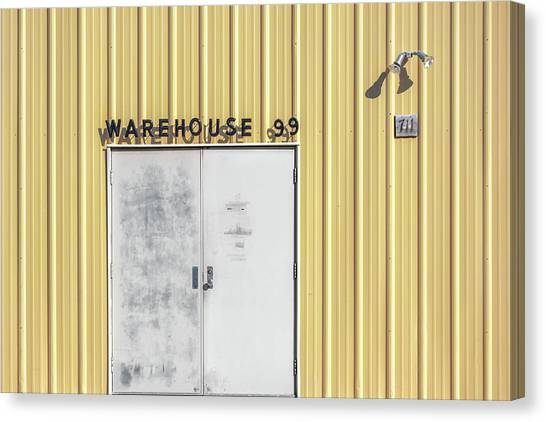 Warehouses Canvas Print - Warehouse 99 by Todd Klassy