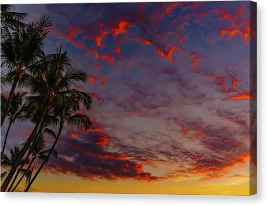 Warm Sky Canvas Print