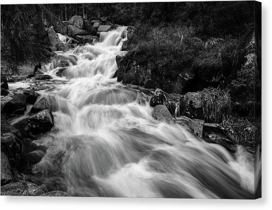 Canvas Print featuring the photograph Warme Bode, Harz by Andreas Levi