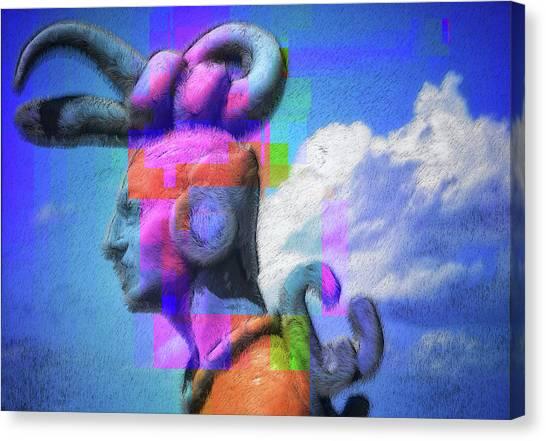 Canvas Print - Warrior by Skip Hunt