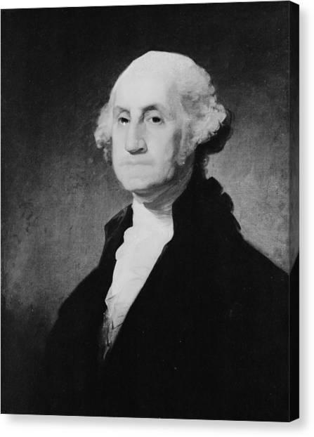 Washington Close-up Canvas Print by Three Lions
