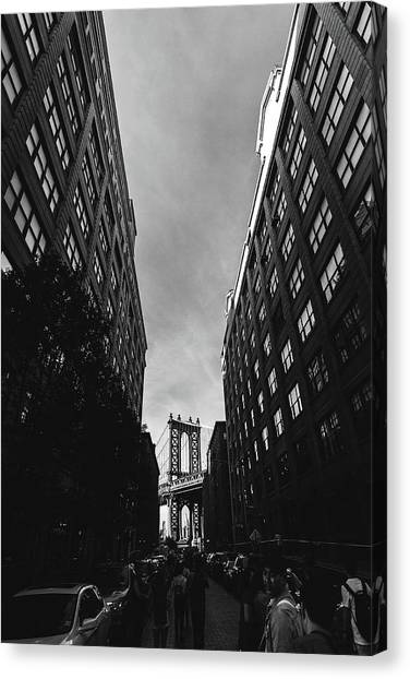 Washington Street Canvas Print