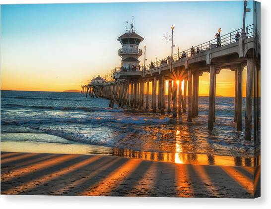 Watching The Sunset Canvas Print by Fernando Margolles