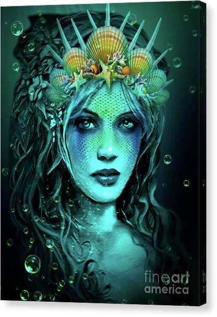 Water Queen Canvas Print