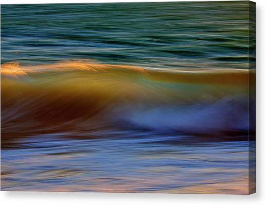 Wave Abstact Canvas Print