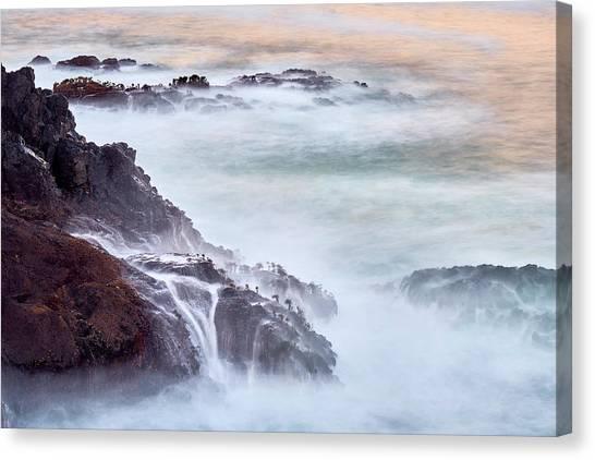 Wave Falls Canvas Print