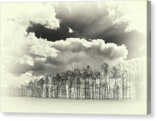 Canvas Print featuring the photograph Weather Symphony. Rohizky, 2015. by Andriy Maykovskyi